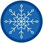 Snowflake Badge