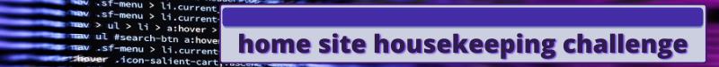 home site housekeeping
