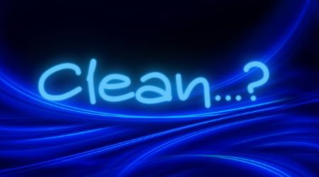 Clean...?